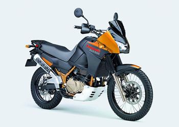 мотоцикл Kawasaki KLE500