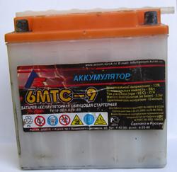 Мотоциклетный аккумулятор