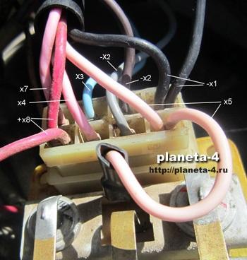 Соединительные провода выпрямитель-регулятора