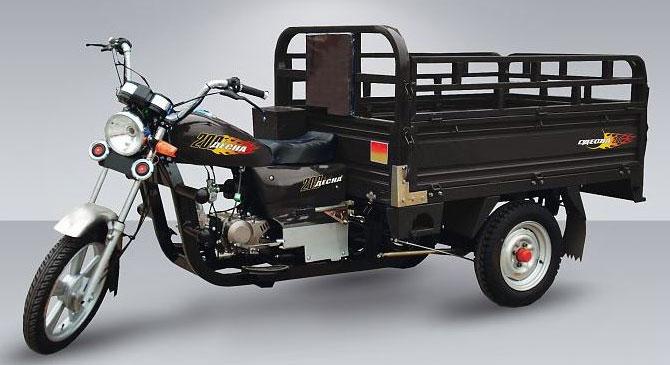 Трехколесный мотоцикл Десна 200 Трицикл