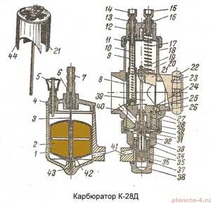 Карбюратор К-28Д