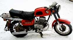Подержаный мотоцикл восход