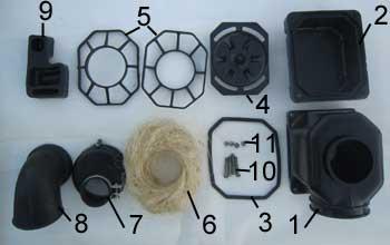 Детали воздушного фильтра