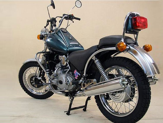 Мотоцикл ИЖ Юнкер сбоку